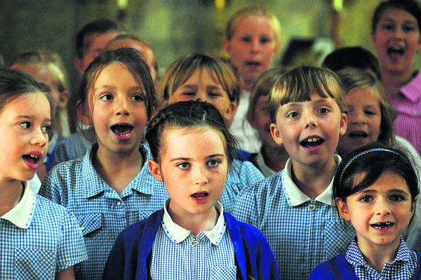 Voices raised at Devizes concert for St Mary's Church