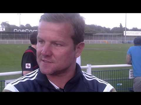 Mark Cooper watched Swindon Town lost 2-0 to Eastleigh last night