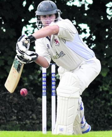Michael Papps made a half-century in Burbage's victory over Marlborough