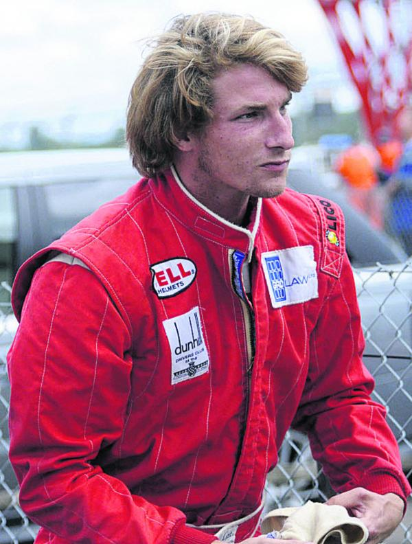 Freddie Hunt, son of 1976 Formula 1 world champion James Hunt, at Castle Combe on Saturday