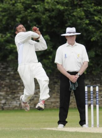 Wiltshire's Tahir Afridi took six wickets during the course of his side's clash with Cheshire but couldn't prevent the county slipping to defeat in their penultimate game of the season