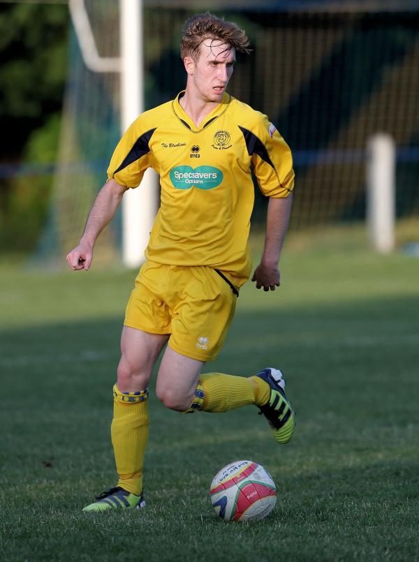 Chippenham Town's Conor McCormack