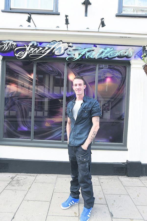 Tom Swift will be opening Swifts Tattoos in Devizes (DV1500 )by diane