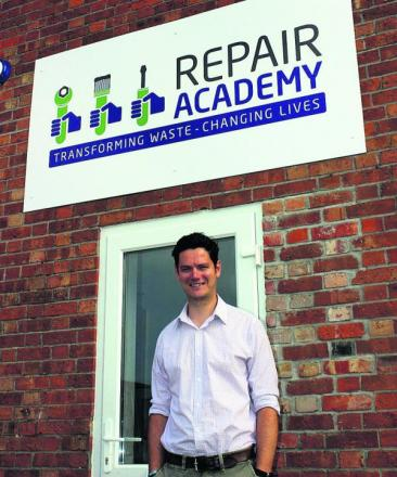 Doug North has taken the helm at the Repair Academy