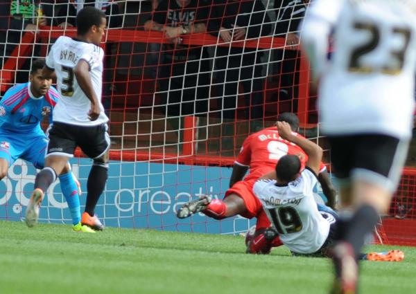 CRAWLEY TOWN 1 SWINDON TOWN 0: The one that got away