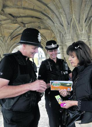 Sarah Heasman finds out more about the initiative from Sgt Martin Alvis and PC Rachel Webb in Malmesbury