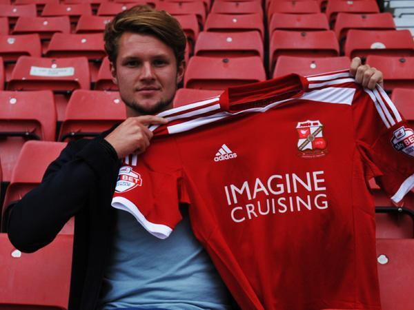 New Town signing Jake Reeves