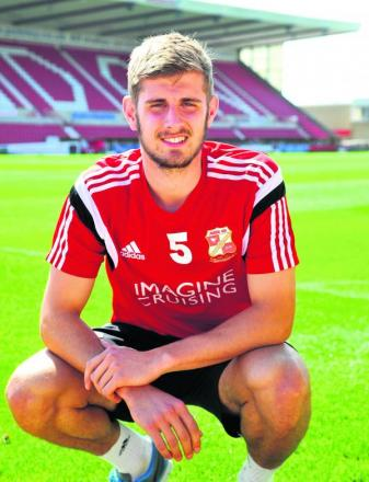 On-loan Town defender Jack Stephens