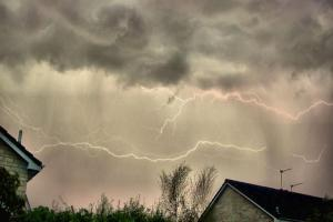 Live blog: Dramatic night of storms in Wiltshire