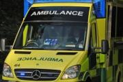 A 19-year-old woman suffered serious injuries when she was thrown from the car she was driving during a collision on Sunday night