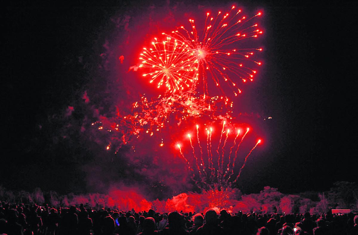 Firework shows to light up night skies