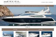 One of the yachts illustrated on Pearl Motor Yachts' website