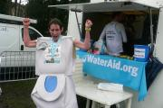 Gillian Sanders ran the Bath 10k for Water Aid
