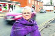 Coun Judy Rose had backed the petition for a crossing in Bath Road but had to concede it was in the wrong place