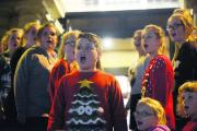 Marlborough Academy of music and dance at last year's Christmas lights switch-on in Marlborough town centre