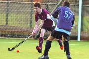 Corsham's Ryan Lewis in action during his side's win over Yate