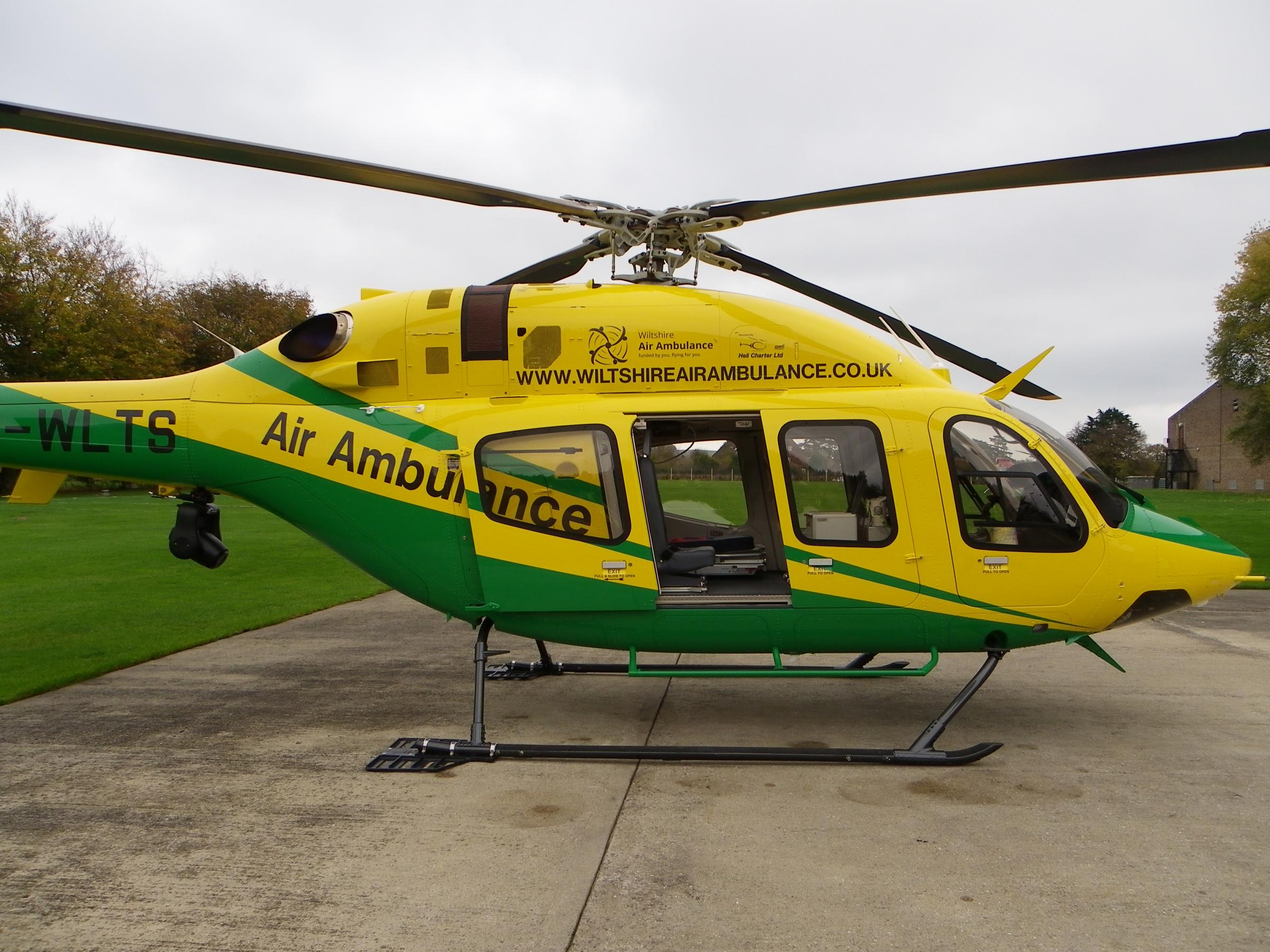New £5m Wiltshire Air Ambulance goes into service | The