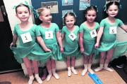 The pre-primary ballet class at the Centre Stage Academy of Dance in Devizes
