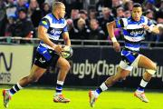 Jonathan Joseph (left) and Anthony Watson have been included in England's Six Nations sqad