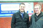 Calne Leisure Centre manager Mike Stuart and chairman Kevin Wells are supporting the move