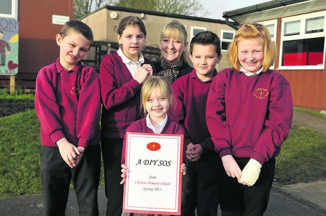 Chirton school's SOS to TV show at appeal launch | The Wiltshire
