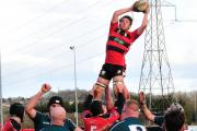 A lineout during Chippenham's win on Saturday (Picture by Steve Whitehead)