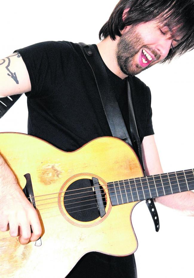 Jon Gomm, St Mary's Church, Devizes.  Saturday, March 21.