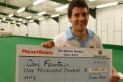 Clarrie champion Carl Fountain