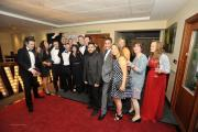 Carpeo celebrate after winning the Customer and Staff Care award (Pic by Glenn Phillips)