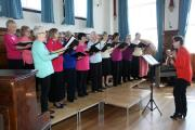New Voices take part in the Calne Spring Sing 2015. By Vicky Scipio (VS827)