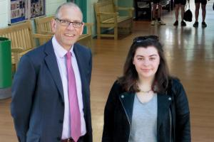 Malmesbury teenager wins £36,000 scholarship from manufacturer Dyson