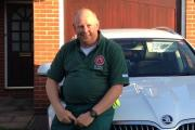 Pewsey Community First Responder Andrew Stride