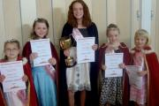 Royal Wootton Bassett youngsters are carnival royalty