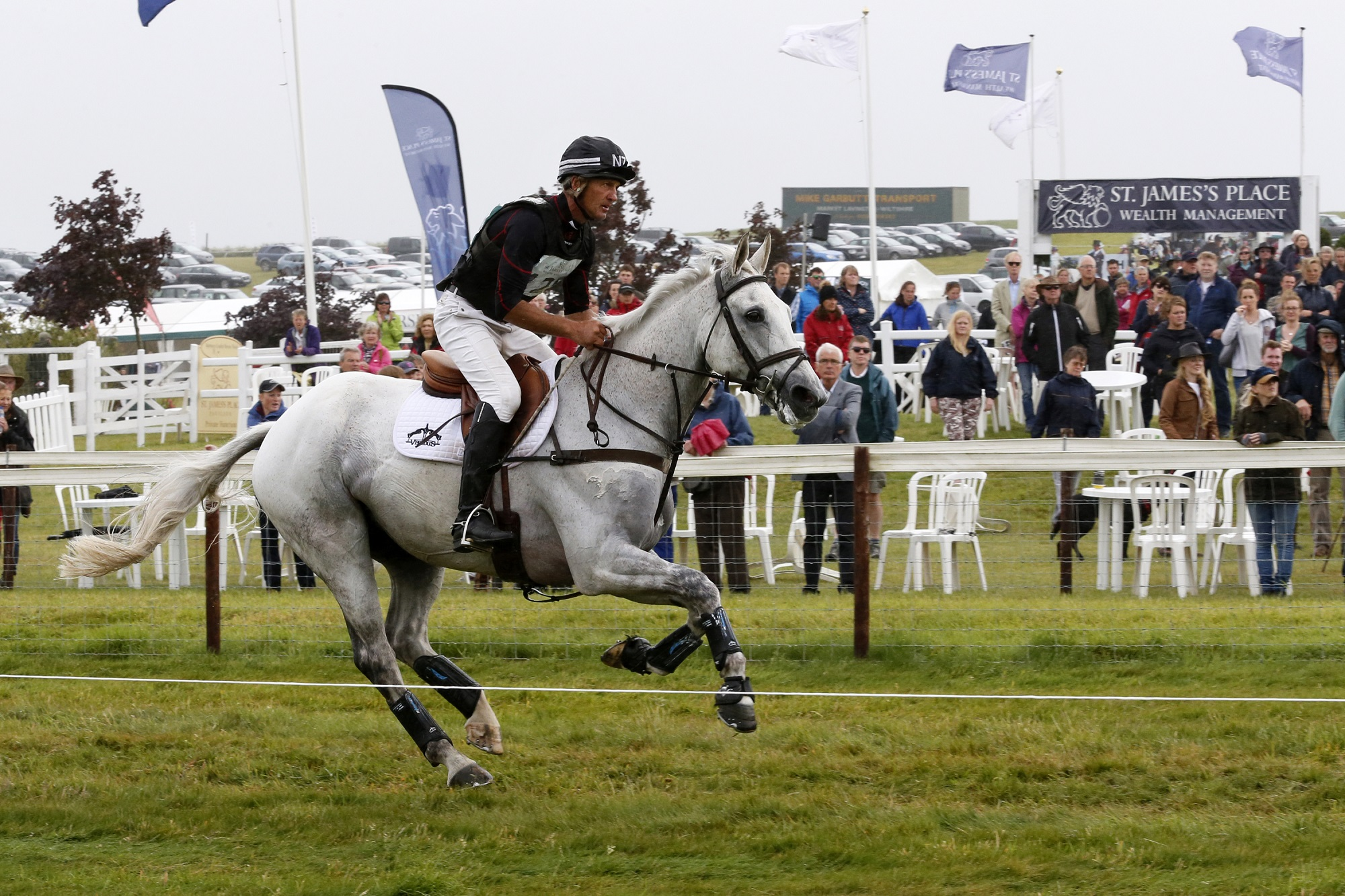 Andrew Nicholson in action at Barbury