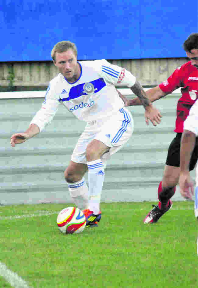 New Chippenham Town signing Alan O'Brien