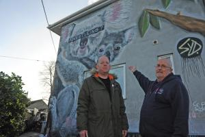 Hundreds back Malmesbury nursery's bid to keep threatened koalas mural