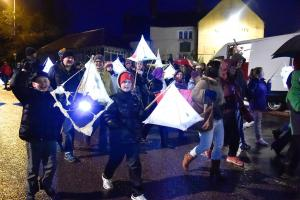 Christmas Lantern Parade in Calne welcomes the festive season