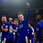 The Wiltshire Gazette and Herald: Jamie Vardy rewrote the history books at the King Power Stadium on Saturday