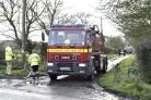 Fire crews across Wiltshire attended a fire at Grafton Road, Burbage. Pics by Diane Vose DV2766/09.