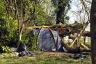 Homeless people living in Devizes woods and the mess that's left behind.Siobhan Boyle (SMB495/13). (23861180)