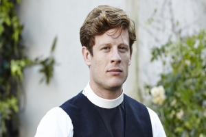 Grantchester fans get hot under the collar as James Norton's dishy vicar returns
