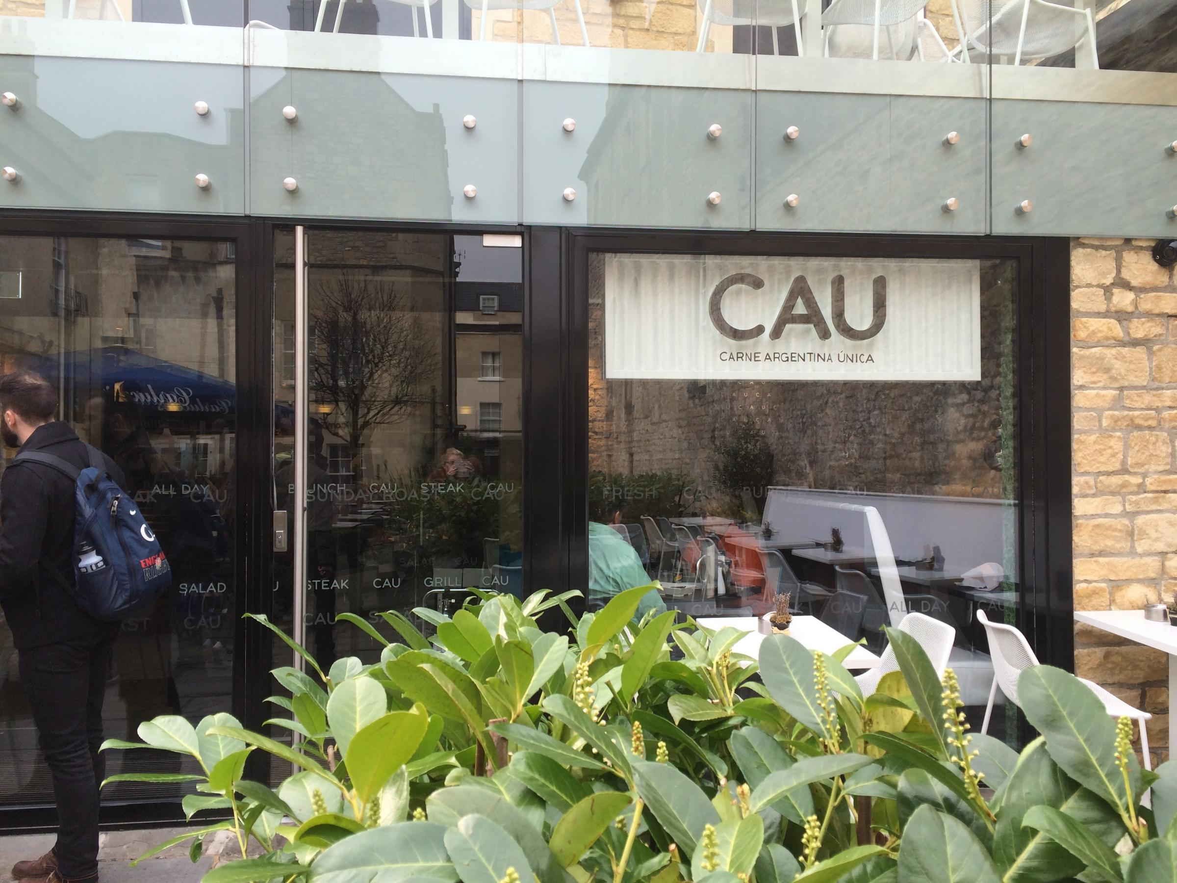The newly opened CAU in Milsom Place, Bath