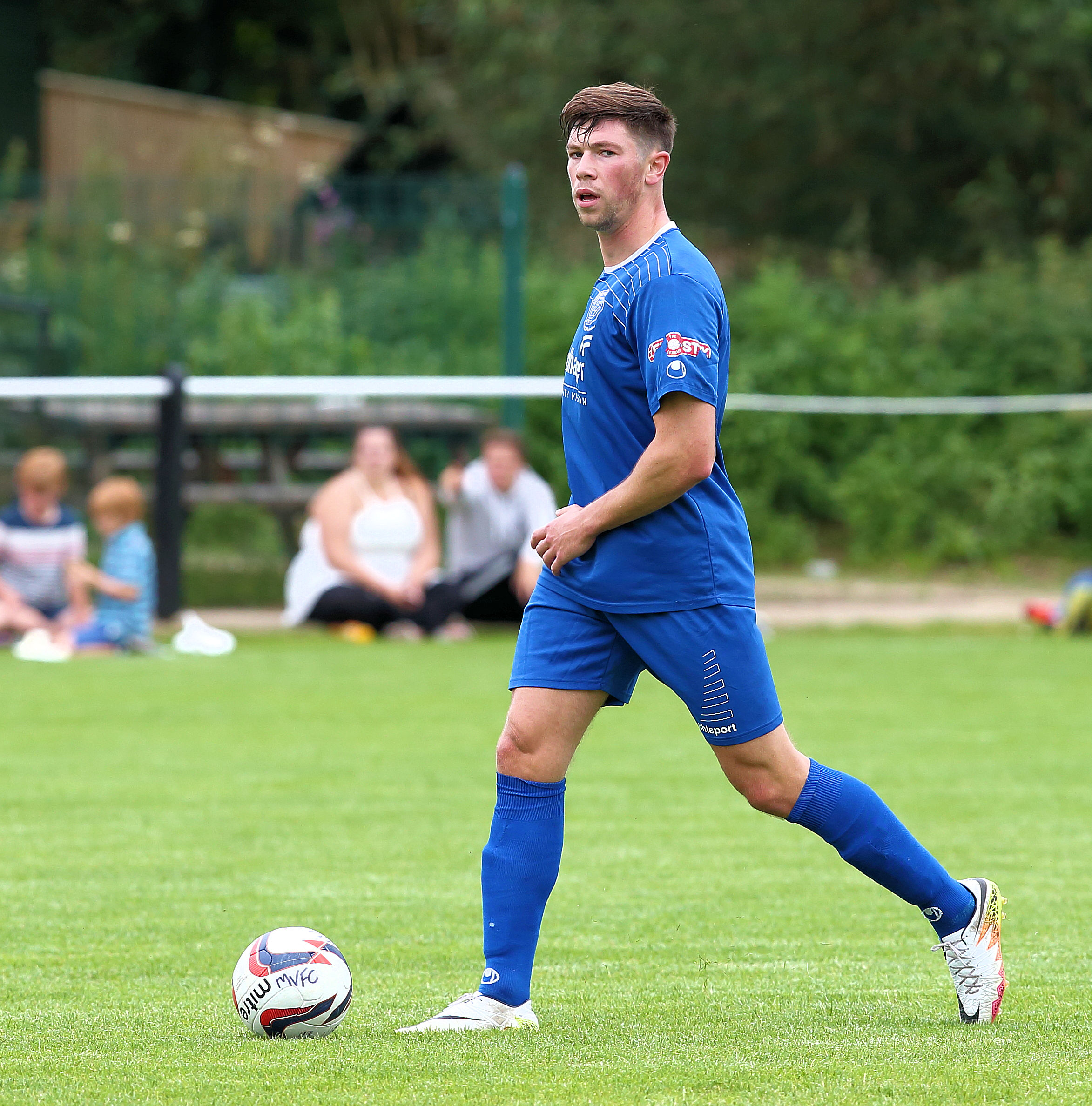 Former Redditch United man Will Richards has joined Chippenham Town (Picture: Chippenham Town FC)