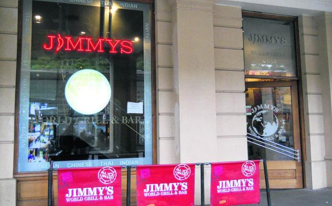 Jimmy's World Grill and Bar in Bath