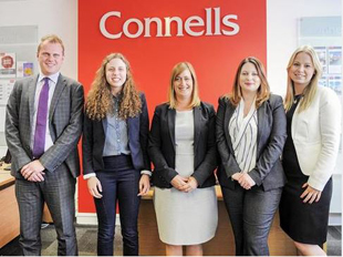 The Wiltshire Gazette and Herald: Connells staff