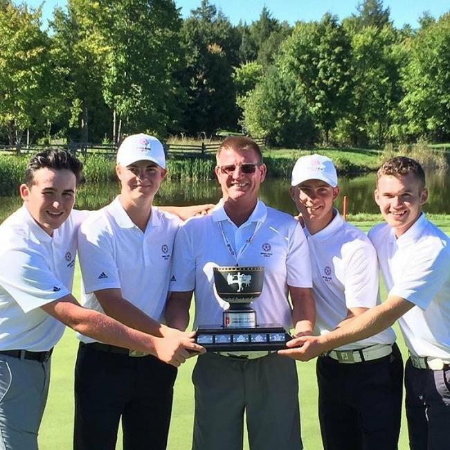 Ogbourne Downs golfer Jake Bolton helps England to victory