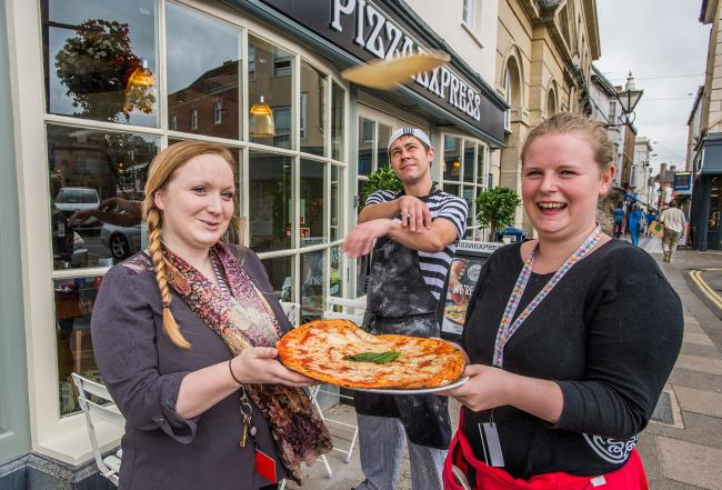 Pizzaexpress Undergoes Revamp The Wiltshire Gazette And Herald