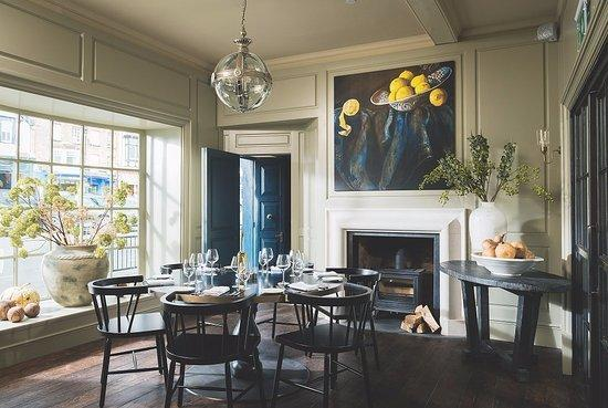 The interior of Rick Stein's Marlborough restaurant