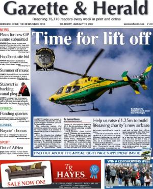 The Wiltshire Gazette and Herald: Wiltshire Air Ambulance launches fundraising appeal to raise £1.25m for its new airbase. Click to find out more