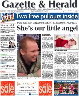 The Wiltshire Gazette and Herald: Troubled John Galvin didn't know his partner was pregnant when he died but his daughter is now helping those who loved him most to be strong. More here